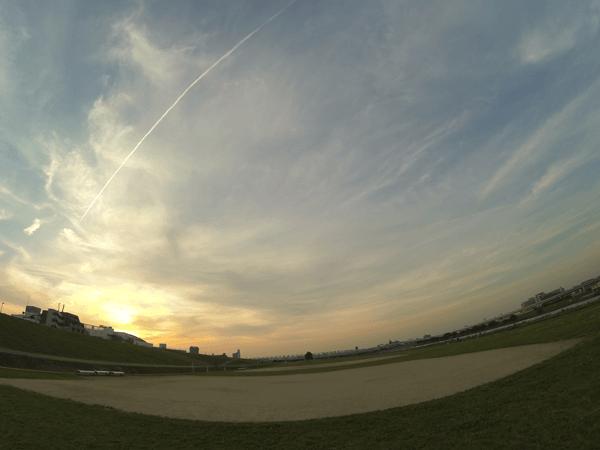 空のフリー写真素材リンク画像