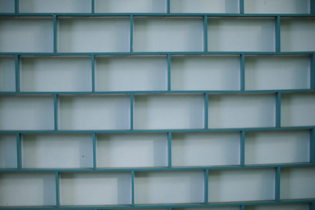 レンガのような模様の壁