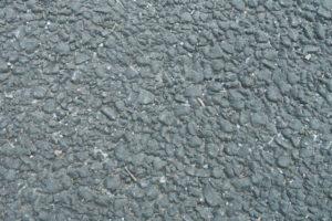 アスファルト道路の接写