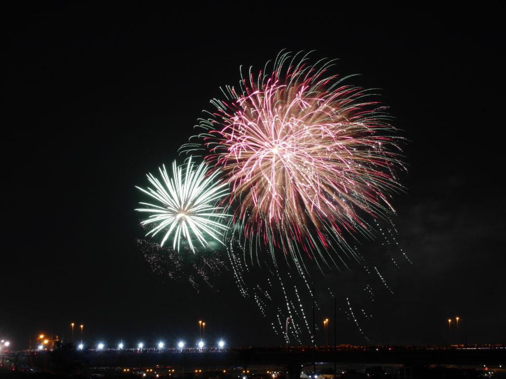 花火大会の写真
