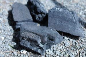 木炭の写真